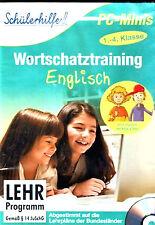 Schülerhilfe 1.-4. Klasse English Wortschatztrannig für Grundschulkinder #L2