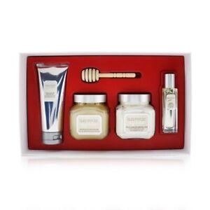 Laura Mercier Almond Coconut Milk Luxe Body Collection: EDT Spray 4pcs Women's