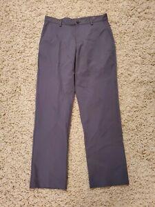 Adidas Climalite Mens Gray Athletic Golf Pants Size 33x33