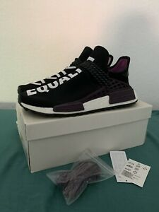 Adidas Human Race NMD Pharrell Holi Festival Core Black EU46 US11 1/2 Uk11