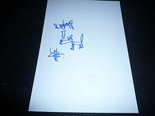 RÖYKSOPP / ROYKSOPP signed autograph In Person 8x12 + handdrawn SKETCH Torbjorn