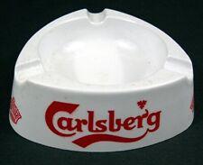 Carlsberg Beer Triangukar Ashtray Made In Italy Mebel / Mellanine Old Dist Stock