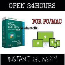 KASPERSKY TOTAL SECURITY 1YEAR 1PC/MAC GLOBAL ACTIVATION KEY INSTANT DELIVERY
