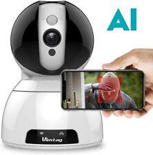 Wireless Security Camera Indoor-Vimtag Surveillance IP Camera, Dome 1080P HD WiF