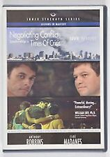 Anthony Robbins Negotiating Conflict Leadership in Times ofCrisis DVD NEW sealed
