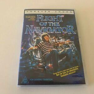 Flight Of The Navigator DVD 1986 Kids Movie - Cult Classic 80's Family Film