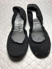 Michael Stars Ballet Flats Black With Stud Size-7