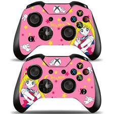 2 Pack Xbox One Controllers Remote Sailor Moon Crystal Anime Vinyl Skins Decals