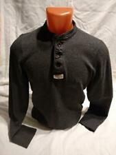 Men's Abercrombie and Fitch Classic Original Henley T-Shirt Longsleeve Top S