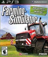 Farming Simulator (Sony PlayStation 3, 2013) NO MANUAL