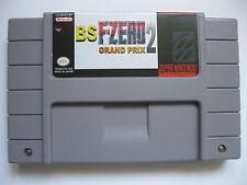 BS F-Zero 2: Grand Prix for Super Nintendo SNES NTSC US English