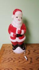 "Vintage Carolina Blow Mold Santa Claus 23"" Christmas Yard Decoration St Nick"