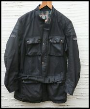 Vintage Belstaff Motorcycle Jacket Trialmaster Mens XL Waxed DRIZA-BONE