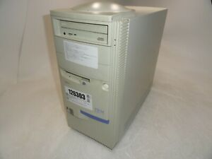 IBM Aptiva 2139-E6U Retro Gaming Tower PC Pentium II 400MHz 128MB 0HD Boots