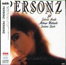 PERSONZ - Personz - Japan CD - NEW - J-POP Limited Edition