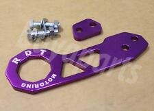2nd GEN PURPLE Anodized Aluminum Rear Tow Hook for 1988-1991 Honda Civic EF CRX