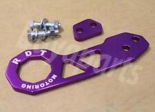 2nd GEN PURPLE Anodized Aluminum Rear Tow Hook for 1988-1991 Honda Civic EF CRX