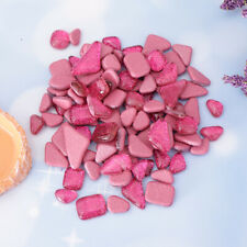 200g Pink Red Glitter Glass Mosaic Tiles for Diy Arts Crafts Glass Supplies
