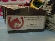 Hand Crafted Natural Neem & Hemp Soap with Exfoliating coffee grounds