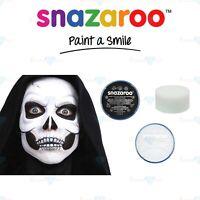 Snazaroo Face Paint & Body Paint Halloween Set Black & White + Sponge Skeleton