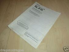 Original Sony SL-F35 Betamax Bedienungsanleitung / Manual, Deutsch, Englisch