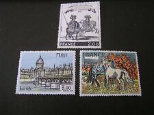FRANCE, SCOTT # 1582-1584(3), COMPLETE SET 1978 ART SERIES ISSUE MVLH