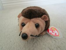 New ~ Ty 1998 Prickles the Hedgehog Beanie Babie ~ Tag Protected
