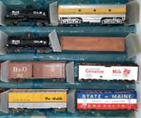 HO Scale Athearn 40' Billboard Reefer Car Hopper Train Passenger LOT 8 Box 13