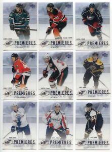 2007-08 Upper Deck Ice SP RC Lot 30 cartes NHL Hockey