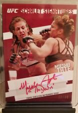 2015 Topps UFC Knockout Miesha Tate Scarlet Signatures Red Auto /30 Autograph