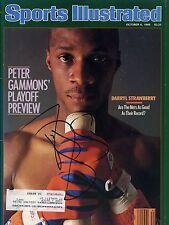 DARRYL STRAWBERRY Signed Sports Illustrated Magazine