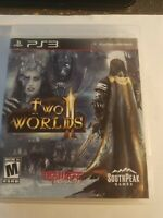 Two Worlds II (Sony PlayStation 3, 2011) Ps3 video game
