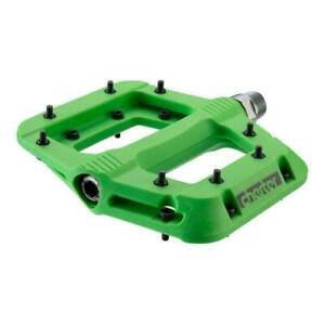Race Face Chester flat pedals GREEN  9/16""