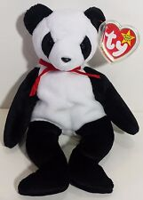 "TY Beanie Babies ""FORTUNE"" the Panda Teddy Bear - MWMTs! RETIRED! PERFECT GIFT!"