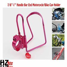 Motorcycle Purple Drink Bottle Holder Fit Honda VTX 1300 C R S RETRO VF750 VFR