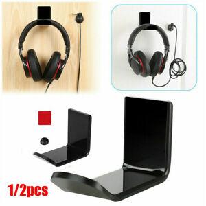 Kopfhörerhalter Displayständer Haken unter Schreibtisch Headset Wandhalterung