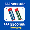Aa Aaa Rechargeable Batteries 9800mah1.5v Alkaline Battery Charger Lot Battery