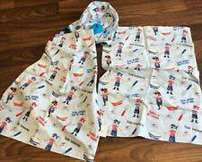 Childrens Pirate Chef Hat Apron & Cloth