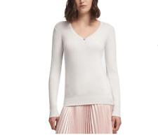 DKNY Womens Metallic Embellished Sweater Size XS