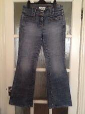 Next Denim Worn Effect Jeans GC Size 12 R.