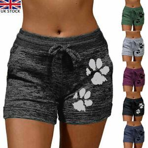 Summer Womens Casual Drawsting Shorts Ladies Short Stretch Hot Pants Plus Size
