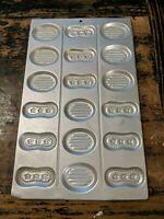Wilton 1984 Parisian Classic Candy Cookie Mold Press 9x15 Metal 60517 Sugar