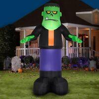 Gemmy Halloween 12 ft Airblown Inflatable Green Monster
