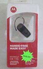 Motorola Hk110 Black Ear-Hook Headset, Unopened