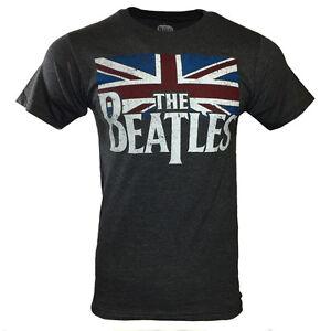 THE BEATLES Men Tee T Shirt John Lennon Rock Band Logo Apparel Vintage Music NEW
