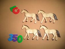 LOTE PLAYMOBIL, CABALLOS, CHEVAUX, HORSEX, NORDISTAS, MEDIEVAL,MODERNO, LOTE 350