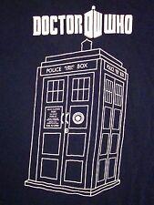 Doctor Who Ploice Box Public Call TV Show Souvenir Time Travel Machine T Shirt M