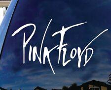 "Pink Floyd British Rock band Logo Album cover car SUV decal sticker 9"" White"