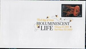 US OCEAN CROWN JELLY #5271 BIOLUMINESCENT LIFE FOREVER STAMP DIGITAL COLOR COVER
