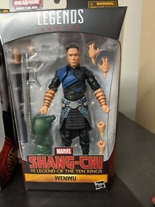 Marvel Legends Shang-Chi Wenwu IN HAND BRAND NEW
